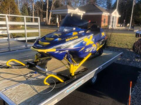 2002 Polaris Edge X M10 500 Liquid Cooled for sale at GT Toyz Motor Sports & Marine - GT Toyz Powersports in Clifton Park NY