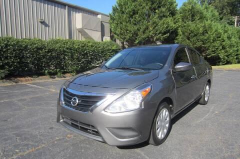 2016 Nissan Versa for sale at Key Auto Center in Marietta GA