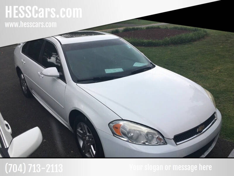 2012 Chevrolet Impala for sale at HESSCars.com in Charlotte NC