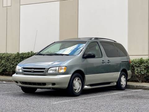 2000 Toyota Sienna for sale at Carfornia in San Jose CA