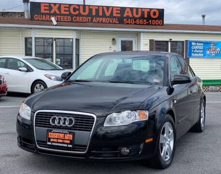 2006 Audi A4 for sale at Executive Auto in Winchester VA
