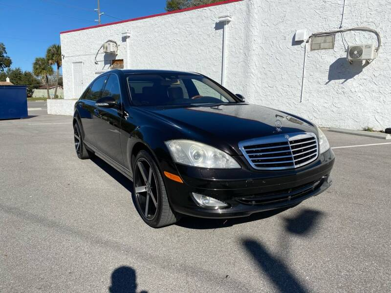 2008 Mercedes-Benz S-Class for sale at Consumer Auto Credit in Tampa FL