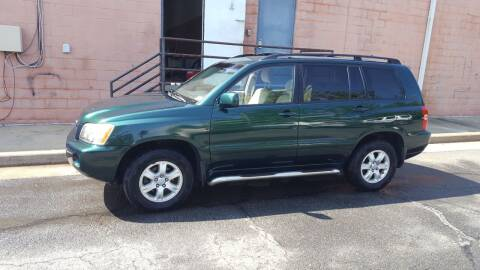 2003 Toyota Highlander for sale at Economy Auto Sales in Dumfries VA