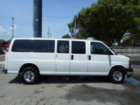 2017 Chevrolet Express Passenger for sale at Florida Suncoast Auto Brokers in Palm Harbor FL