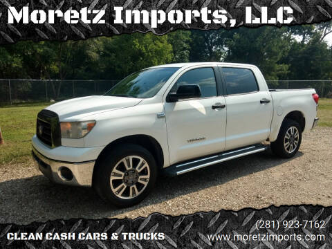 2008 Toyota Tundra for sale at Moretz Imports, LLC in Spring TX