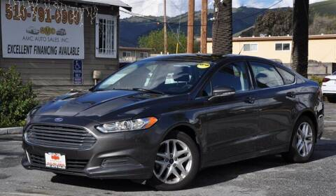 2016 Ford Fusion for sale at AMC Auto Sales, Inc. in Fremont CA