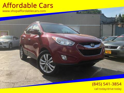 2011 Hyundai Tucson for sale at Affordable Cars in Kingston NY