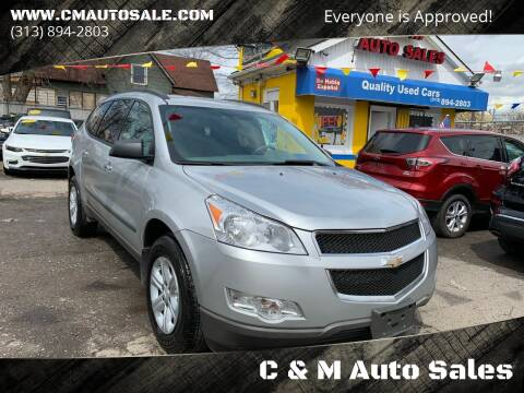 2010 Chevrolet Traverse for sale at C & M Auto Sales in Detroit MI