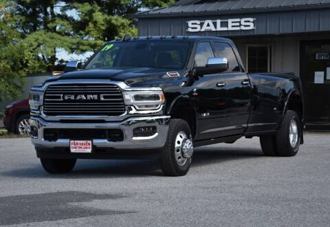 2019 RAM Ram Pickup 3500 for sale at Will's Fair Haven Motors in Fair Haven VT