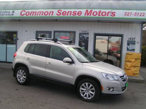 2009 Volkswagen Tiguan for sale at Common Sense Motors in Spokane WA