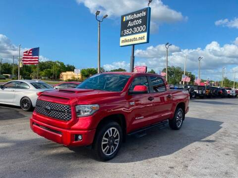 2018 Toyota Tundra for sale at Michaels Autos in Orlando FL