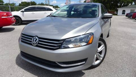 2014 Volkswagen Passat for sale at Das Autohaus Quality Used Cars in Clearwater FL