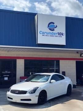 2007 Infiniti G35 for sale at CarUnder10k in Dayton TN