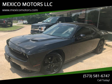 2015 Dodge Challenger for sale at MEXICO MOTORS LLC in Mexico MO