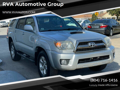 2006 Toyota 4Runner for sale at RVA Automotive Group in North Chesterfield VA