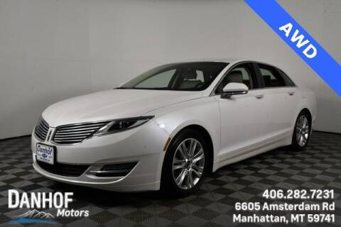 2016 Lincoln MKZ for sale at Danhof Motors in Manhattan MT