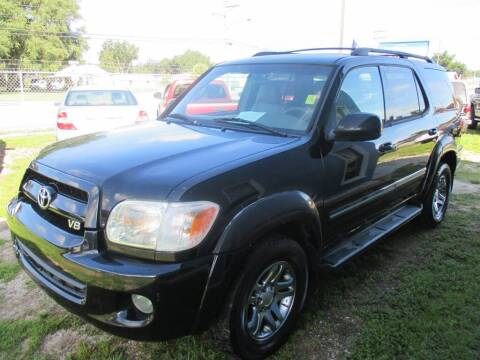 2007 Toyota Sequoia for sale at New Gen Motors in Bartow FL