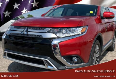2019 Mitsubishi Outlander for sale at Paris Auto Sales & Service in Big Rapids MI