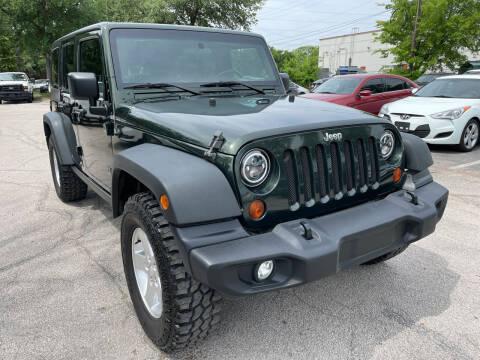 2010 Jeep Wrangler Unlimited for sale at PRESTIGE AUTOPLEX LLC in Austin TX