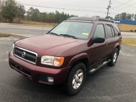 2003 Nissan Pathfinder for sale at ATLANTA AUTO WAY in Duluth GA