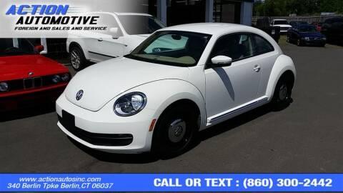 2014 Volkswagen Beetle for sale at Action Automotive Inc in Berlin CT