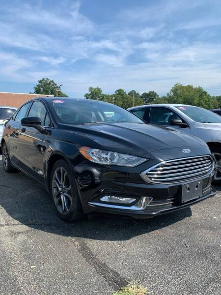 2017 Ford Fusion for sale at City to City Auto Sales in Richmond VA