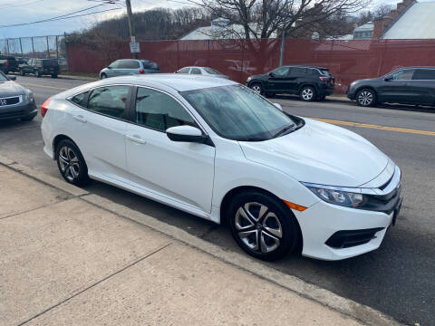 2018 Honda Civic for sale at White River Auto Sales in New Rochelle NY