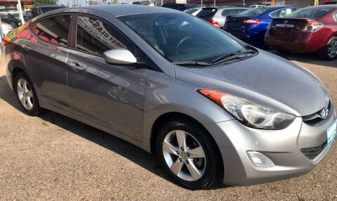 2013 Hyundai Elantra for sale at First Class Motors in Greeley CO