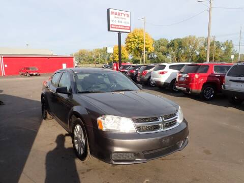 2014 Dodge Avenger for sale at Marty's Auto Sales in Savage MN