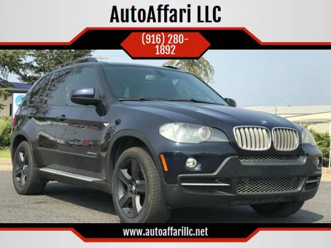 2009 BMW X5 for sale at AutoAffari LLC in Sacramento CA