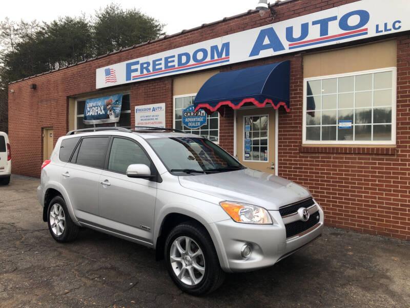 2009 Toyota RAV4 for sale at FREEDOM AUTO LLC in Wilkesboro NC