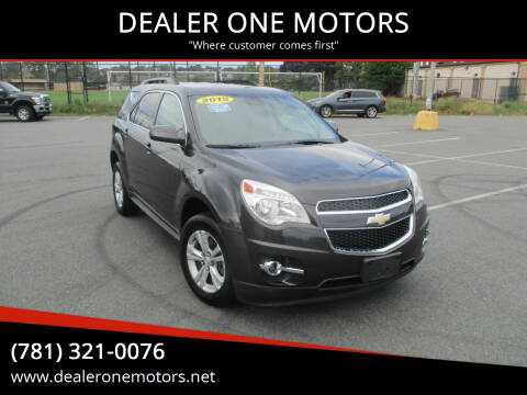 2015 Chevrolet Equinox for sale at DEALER ONE MOTORS in Malden MA