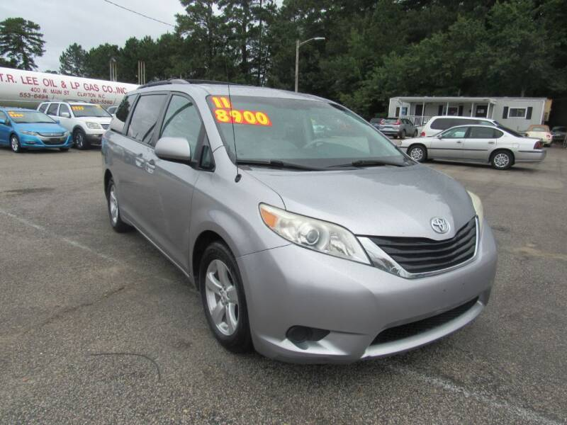2011 Toyota Sienna for sale at Auto Bella Inc. in Clayton NC