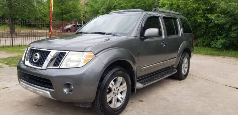 2008 Nissan Pathfinder for sale at Green Source Auto Group LLC in Houston TX