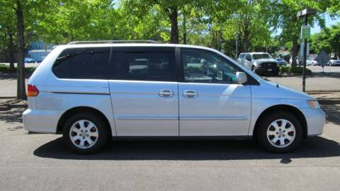2004 Honda Odyssey for sale at D & M Auto Sales in Corvallis OR