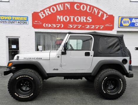 2006 Jeep Wrangler for sale at Brown County Motors in Russellville OH