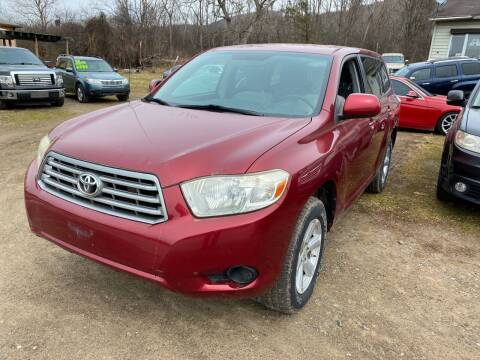2008 Toyota Highlander for sale at Richard C Peck Auto Sales in Wellsville NY