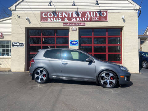 2011 Volkswagen GTI for sale at COVENTRY AUTO SALES in Coventry CT