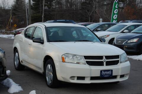 2008 Dodge Avenger for sale at Amati Auto Group in Hooksett NH