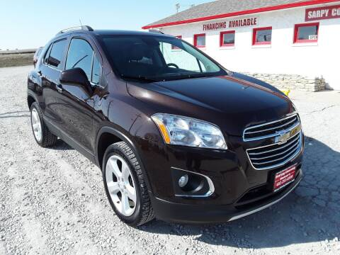 2015 Chevrolet Trax for sale at Sarpy County Motors in Springfield NE