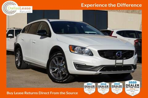 2018 Volvo V60 Cross Country for sale at Dallas Auto Finance in Dallas TX