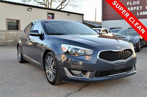 2015 Kia Cadenza for sale at LAKESIDE MOTORS, INC. in Sachse TX