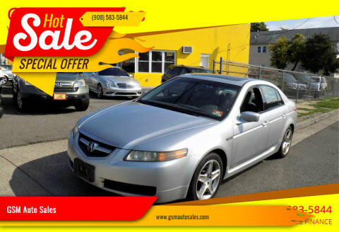 2006 Acura TL for sale at GSM Auto Sales in Linden NJ