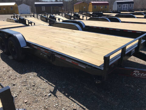 2021 zRettig 18ft Flatbed for sale at Greg's Auto Sales in Searsport ME