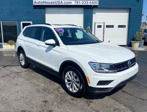 2018 Volkswagen Tiguan for sale at Saugus Auto Mall in Saugus MA