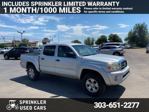 2007 Toyota Tacoma for sale at Sprinkler Used Cars in Longmont CO