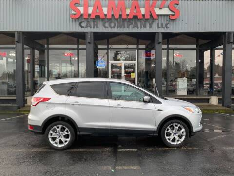 2013 Ford Escape for sale at Siamak's Car Company llc in Salem OR