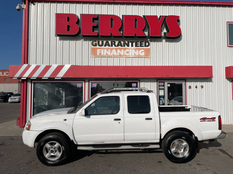 2001 Nissan Frontier for sale at Berry's Cherries Auto in Billings MT