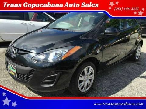 2014 Mazda MAZDA2 for sale at Trans Copacabana Auto Sales in Hollywood FL