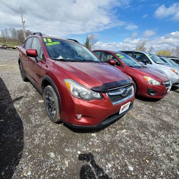 2013 Subaru XV Crosstrek for sale at ALL WHEELS DRIVEN in Wellsboro PA